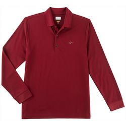 Greg Norman Collection Mens Solar XP Long Sleeve Polo Shirt