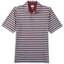 Greg Norman Collection Mens Rugby Stripe Polo Shirt