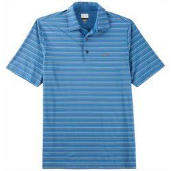 Greg Norman Collection Mens Multi Feeder Stripe Polo Shirt
