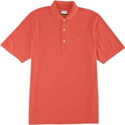 Greg Norman Collection Mens Performance Pique Polo Shirt