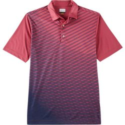 Greg Norman Collection Mens Performance Stripe Polo Shirt
