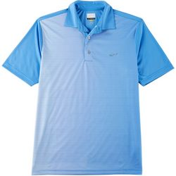 Greg Norman Collection Mens Performance Ombre Dot Polo Shirt