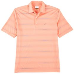 Greg Norman Collection Mens Broken Stripe Polo Shirt
