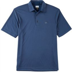 Greg Norman Collection Mens Play Dry Jacquard Polo Shirt