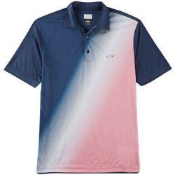 Greg Norman Collection Mens Diagonal Fade Polo Shirt