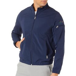 Greg Norman Mens Weather Essentials Zipper Jacket