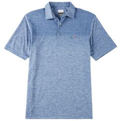 Greg Norman Collection Mens Jacquard Polo Shirt