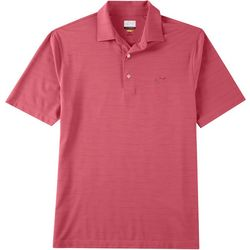 Greg Norman Collection Mens Performance Lined Polo Shirt