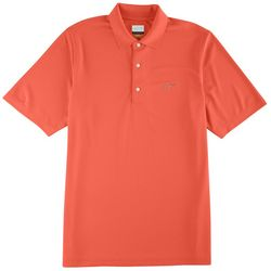 Greg Norman Collection Mens Solid Polo Shirt