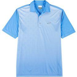 Greg Norman Collection Mens Diamond & Stripe Polo Shirt