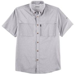 Coleman Mens Heathered Stretch Guide Shirt