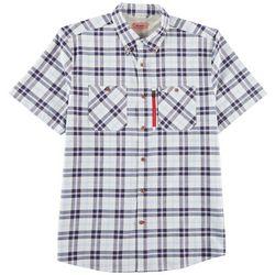 Coleman Mens Stretch Guide Plaid Shirt