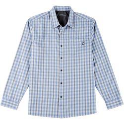 Hi-Tec Mens Hemlock Plaid Long Sleeve Shirt