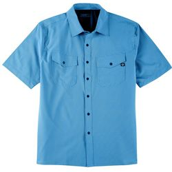 Hi-Tec Mens Whale Rock Short Sleeve Shirt