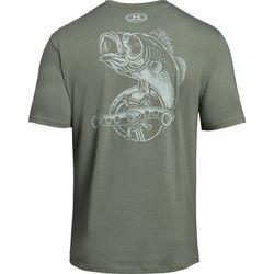 Under Armour Mens Reel Bass T-Shirt