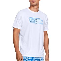 Under Armour Mens UA Fish Icon Graphic Logo T-Shirt