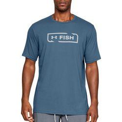 Under Armour Mens UA Fish Icon Logo T-Shirt
