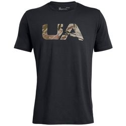 Under Armour Mens Camo Fill UA Logo T-Shirt