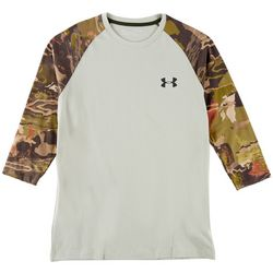 Under Armour Mens Ridge Reaper Camo Raglan Shirt