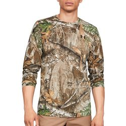 Under Armour Mens Real Tree Camo Long Sleeve T-Shirt