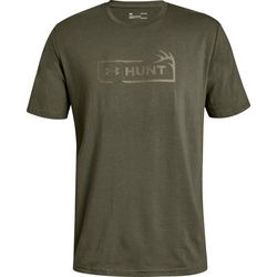 Under Armour Mens Hunt Icon Logo T-Shirt