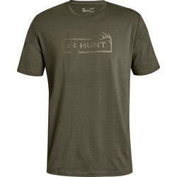 Under Armour Mens Hunt Icon Logo T-Shirt