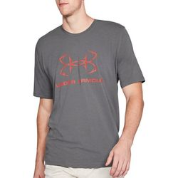 Under Armour Mens Heather Fish Hook Sport T-Shirt