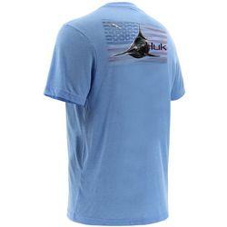 Huk Mens KC Scott American Pitch T-Shirt