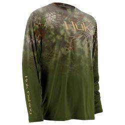 Huk Mens Kryptek Fade Icon Mandrake Long Sleeve T-Shirt