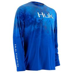 Huk Mens Kryptek Fade Icon Long Sleeve T-Shirt