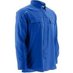 Huk Mens Next Level Hybrid Button Down Long Sleeve Shirt