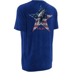 Huk Mens KC Scott American Marlin T-Shirt