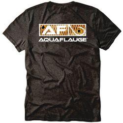 AquaFlauge Mens Redfish Pocket Short Sleeve T-Shirt