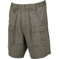 Hook and Tackle Mens Beer Can Island Cargo Shorts