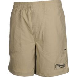 Hook and Tackle Mens Beer Can Island Swim Shorts