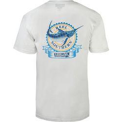 Hook and Tackle Mens Reel Southern Marlin T-Shirt