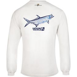 Hook and Tackle Mens Megalops Long Sleeve T-Shirt