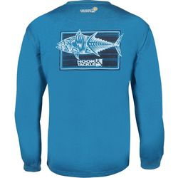 Hook and Tackle Mens Terrible Tuna Tech Long Sleeve T-Shirt