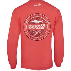 Hook and Tackle Mens Porthole Tech Long Sleeve T-Shirt