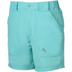 Hook and Tackle Mens Beer Can Island Stretch Hybrid Shorts