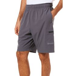 Free Country Mens Tech Stretch Solid Shorts