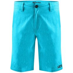 PELAGIC Mens Deep Sea Solid Hybrid Shorts