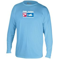 PELAGIC Mens Aquatek Long Sleeve Sunshirt