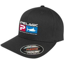 PELAGIC Mens Flex Fit Deluxe Hat