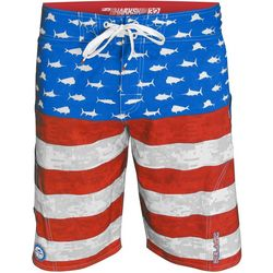 PELAGIC Mens Americamo Boardshorts