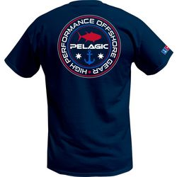 PELAGIC Mens Anchored Up T-Shirt