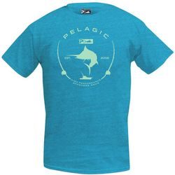 PELAGIC Mens Light Electric Marlin T-Shirt