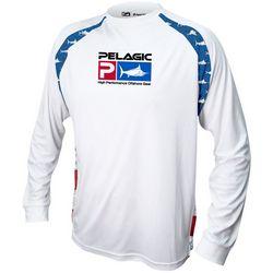PELAGIC Mens Vaportek America T-Shirt