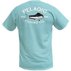 PELAGIC Mens Market Dorado Short Sleeve T-Shirt