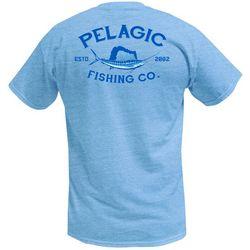 PELAGIC Mens Market Sailfish Short Sleeve T-Shirt